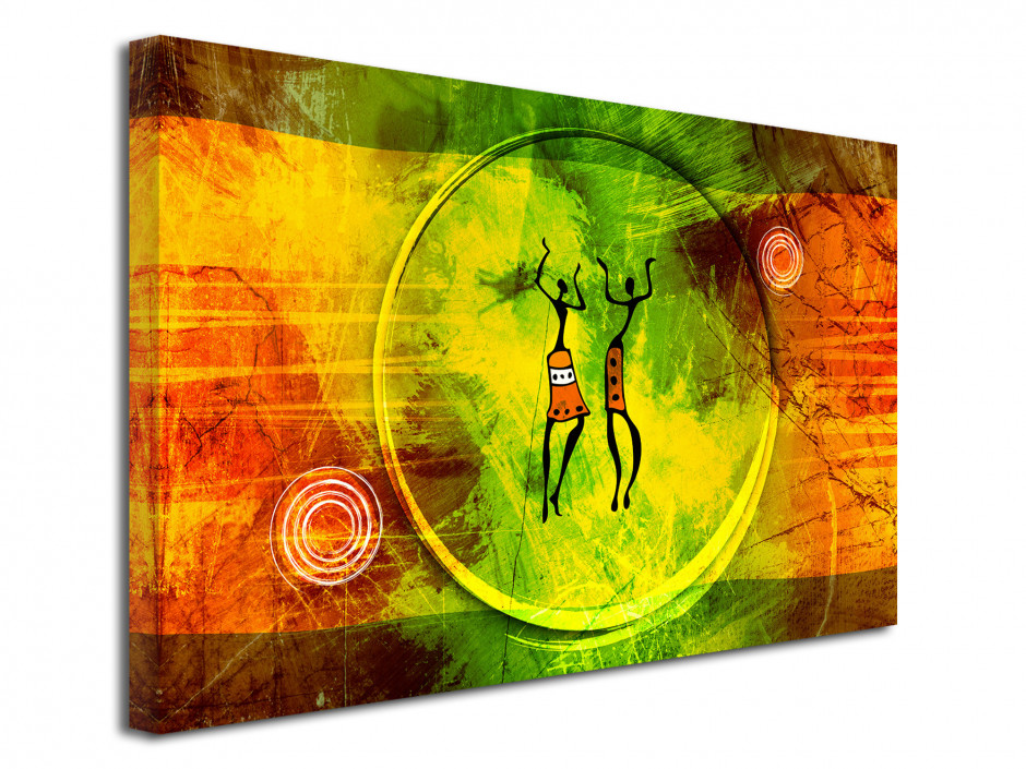 Tableau toile décorative style Africain