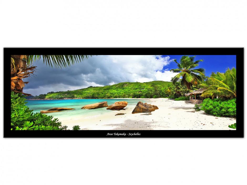 Tableau toile panoramique ANSE TAKAMAKA