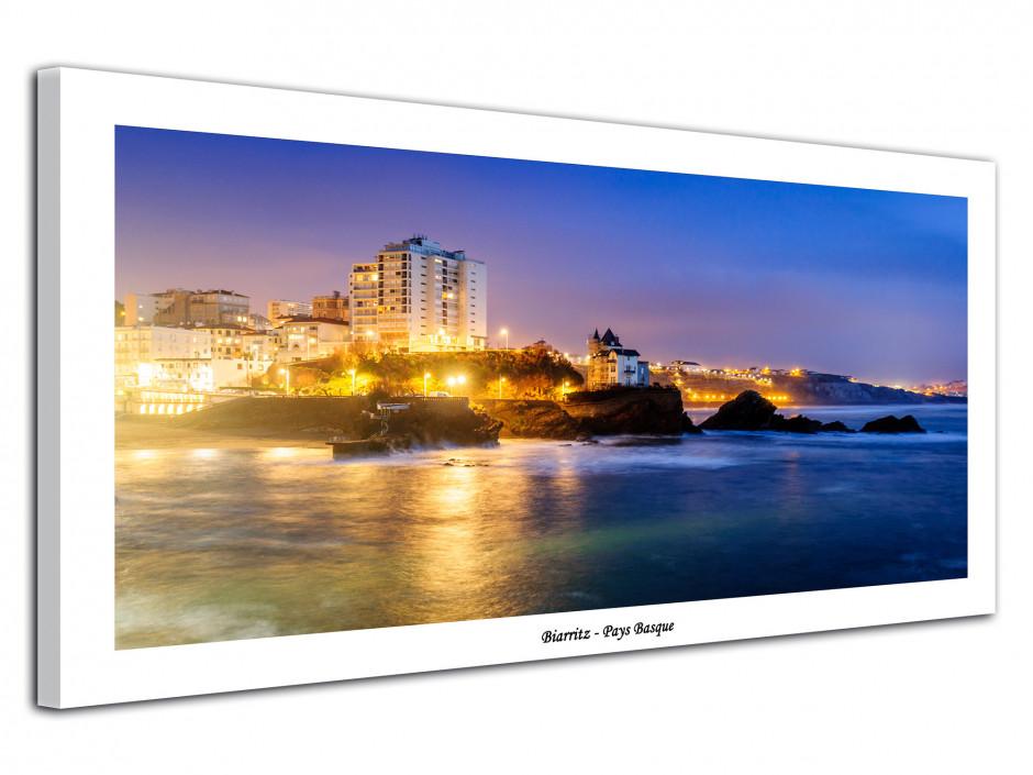 Tableau photo de paysage du pays basque Biarritz