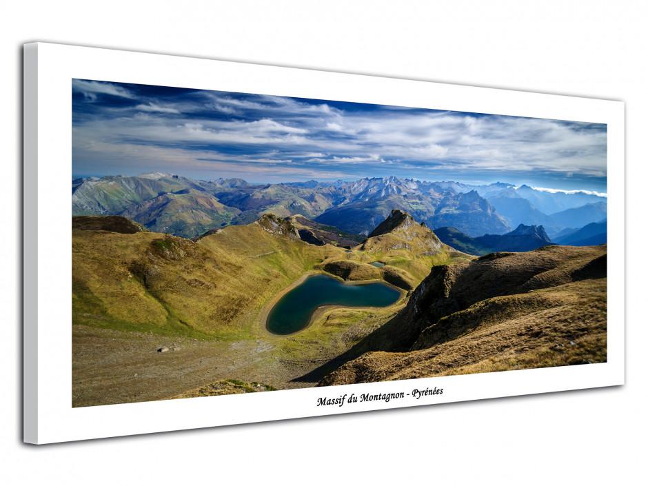 Tableau photo de montagne des Pyrénées