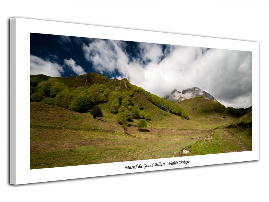 Cadre déco paysage Massif du Grand Billare