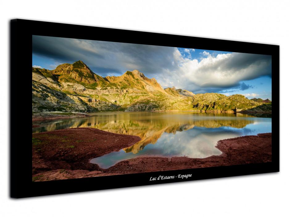Tableau photo de montagne Lac d'Estaens