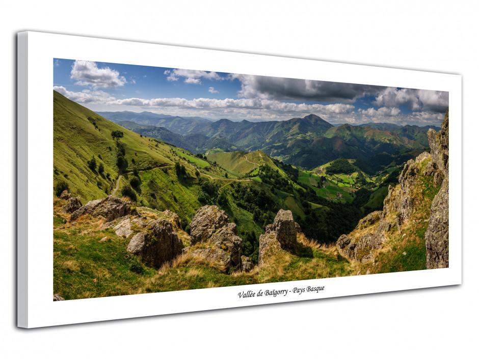 Tableau photo paysages Montagne du Pays basque