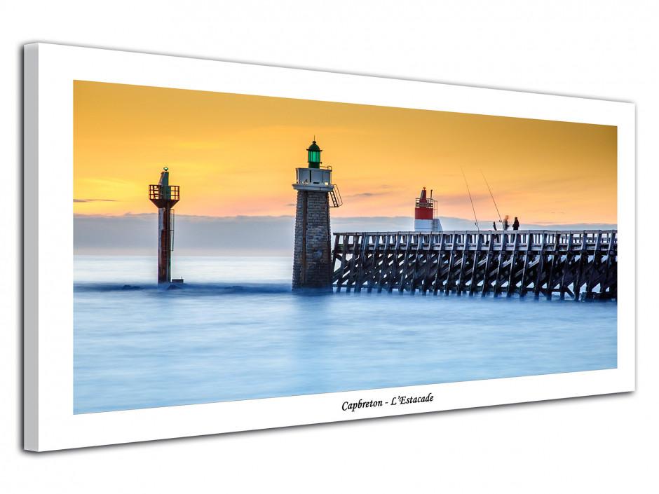 Tableau deco photo L'Estacade au coucher du soleil