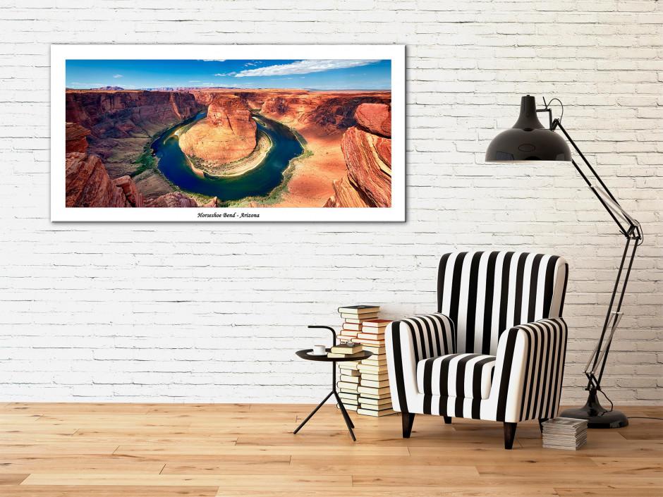 Tableau toile deco photo paysage Arizona