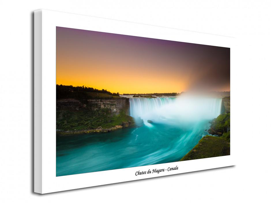 Tableau moderne photo des chutes du Niagara