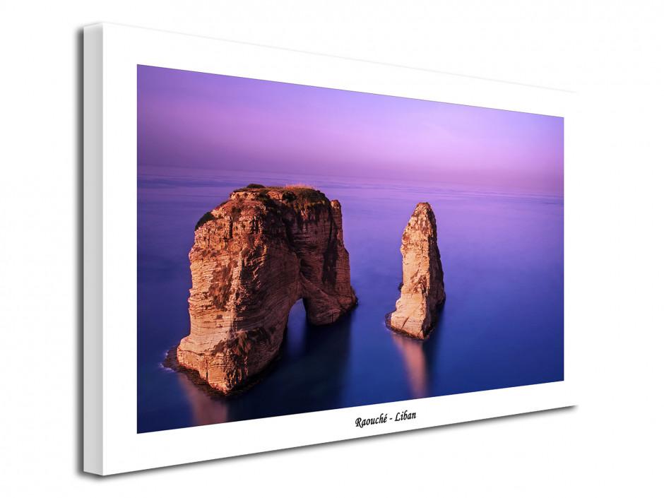 Tableau moderne photographie de paysage Raouché