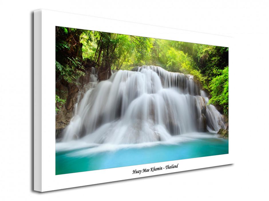 Photographie sur toile moderne Cascade de Thailande