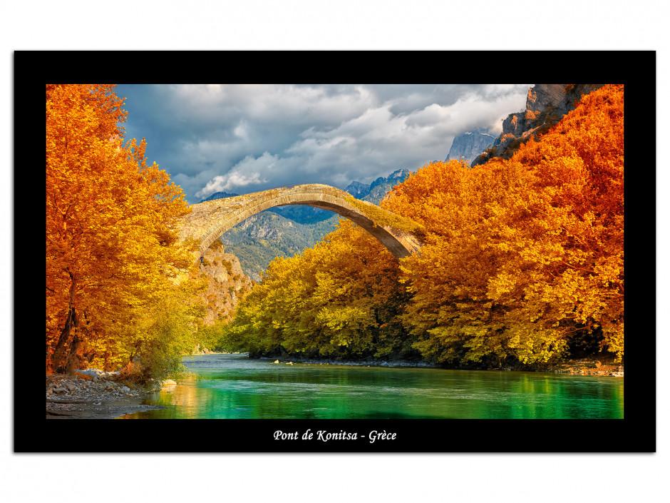 Photo sur toile deco Pont de Konitsa