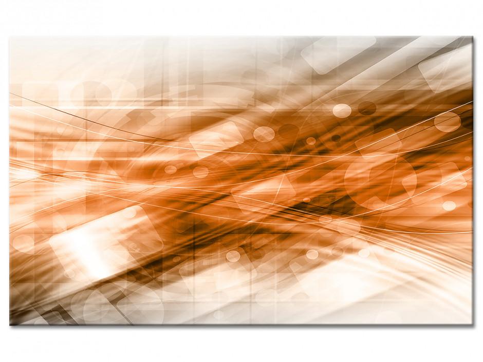 Tableau aluminium déco abstraite ILLUSION