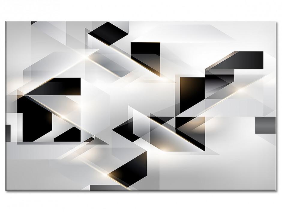 Tableau aluminium abstrait ORIGAMI