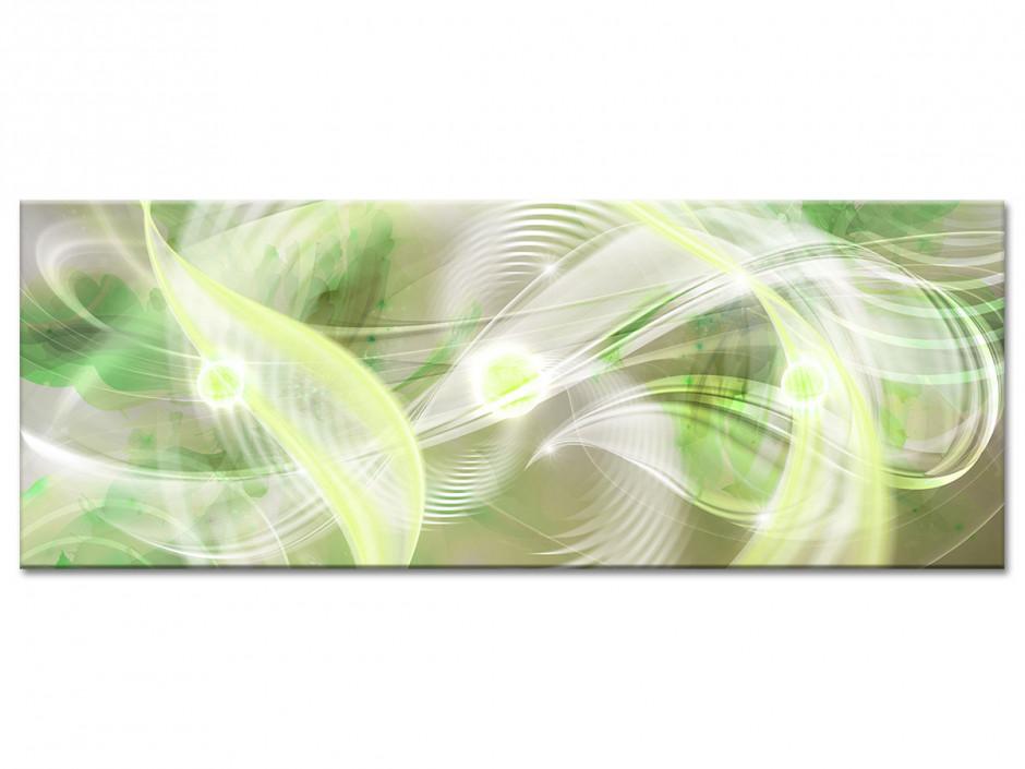 Tableau aluminium panoramique abstraite HYPNOSE