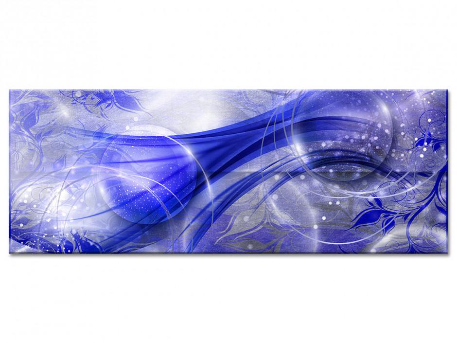 Tableau aluminium abstrait BULLES MODERNES