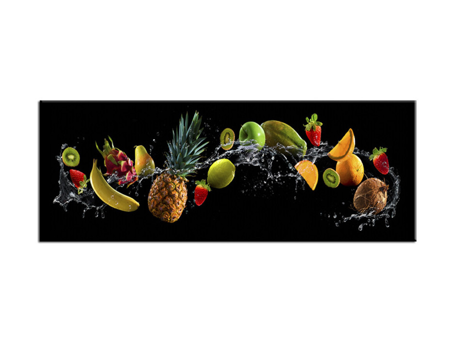 Tableau Aluminium déco moderne Fruits Party