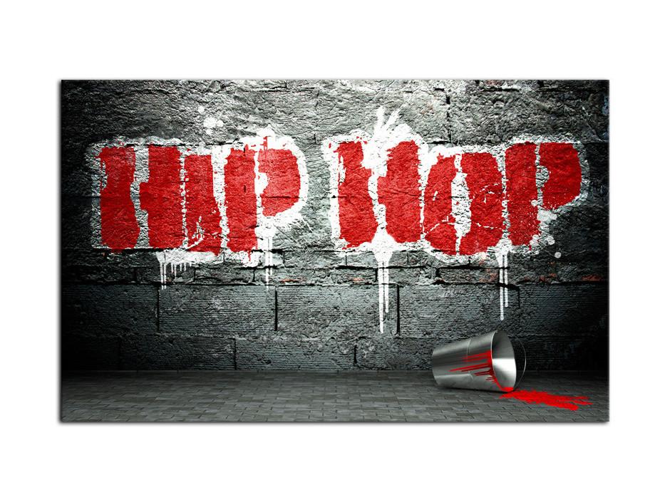 Tableau Aluminium deco moderne Hip Hop
