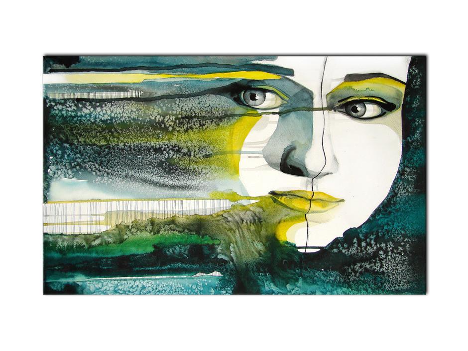 Cadre Aluminium deco moderne design Peinture
