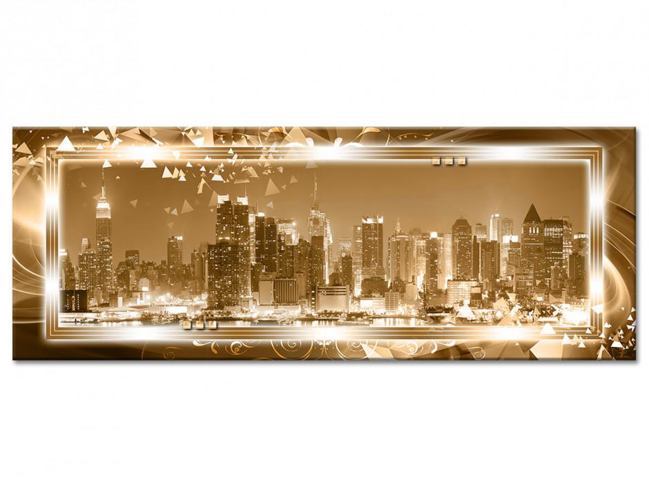 Tableau aluminium panorama MANHATTAN