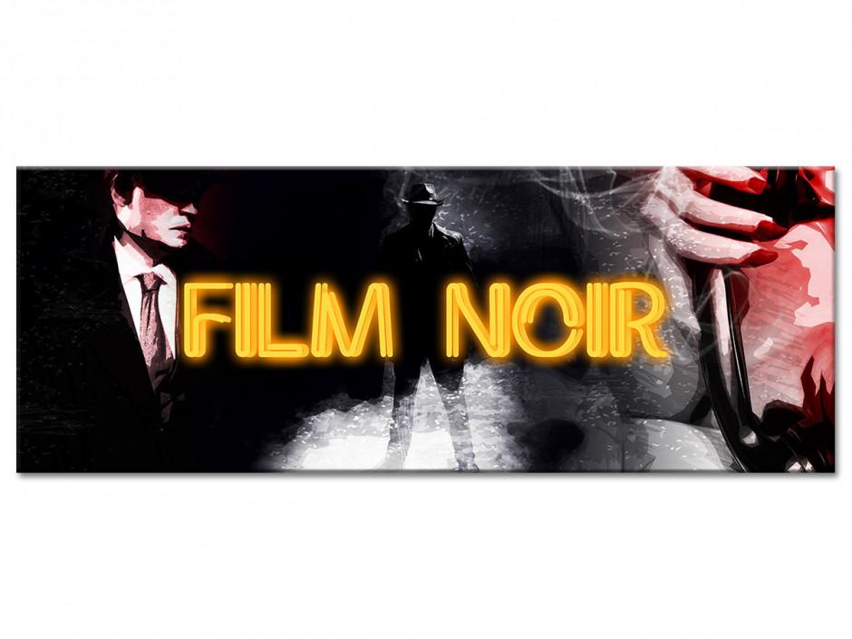 Tableau aluminium déco panoramique  FILM CRIME