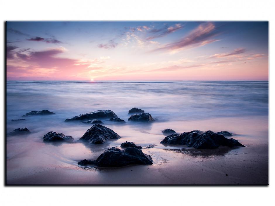 Tableau Aluminium photo paysage plage de Seignosse