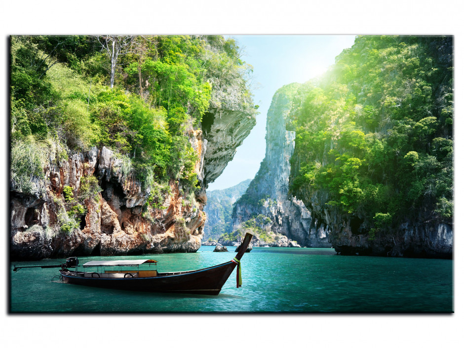 Tableau Aluminium déco PLAGE THAILANDE