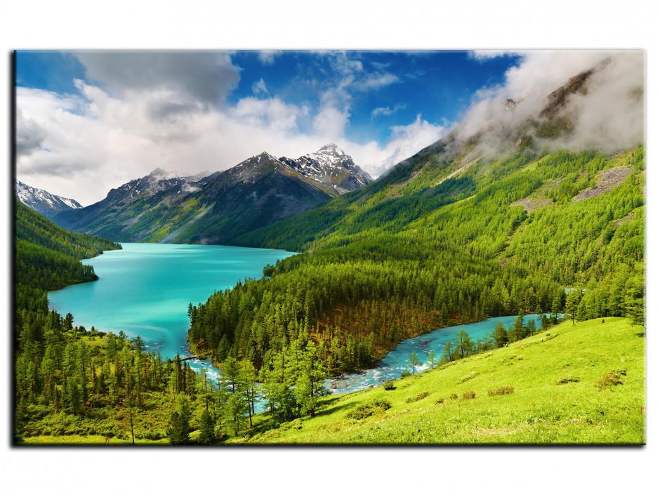Tableau Aluminium paysage de Montagne