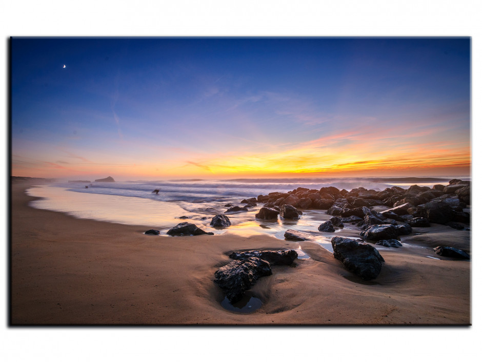 Tableau Aluminium photo PLAGE DE CAPBRETON