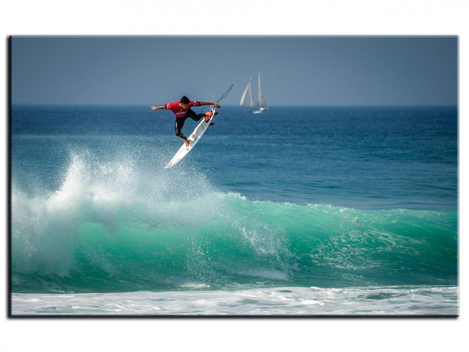 Tableau Aluminium deco SURF DANS LES LANDES