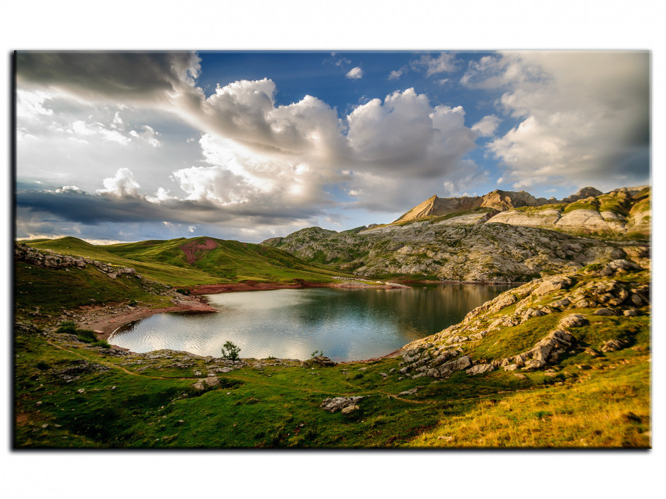 Tableau Aluminium photo LAC D'ESTAENS