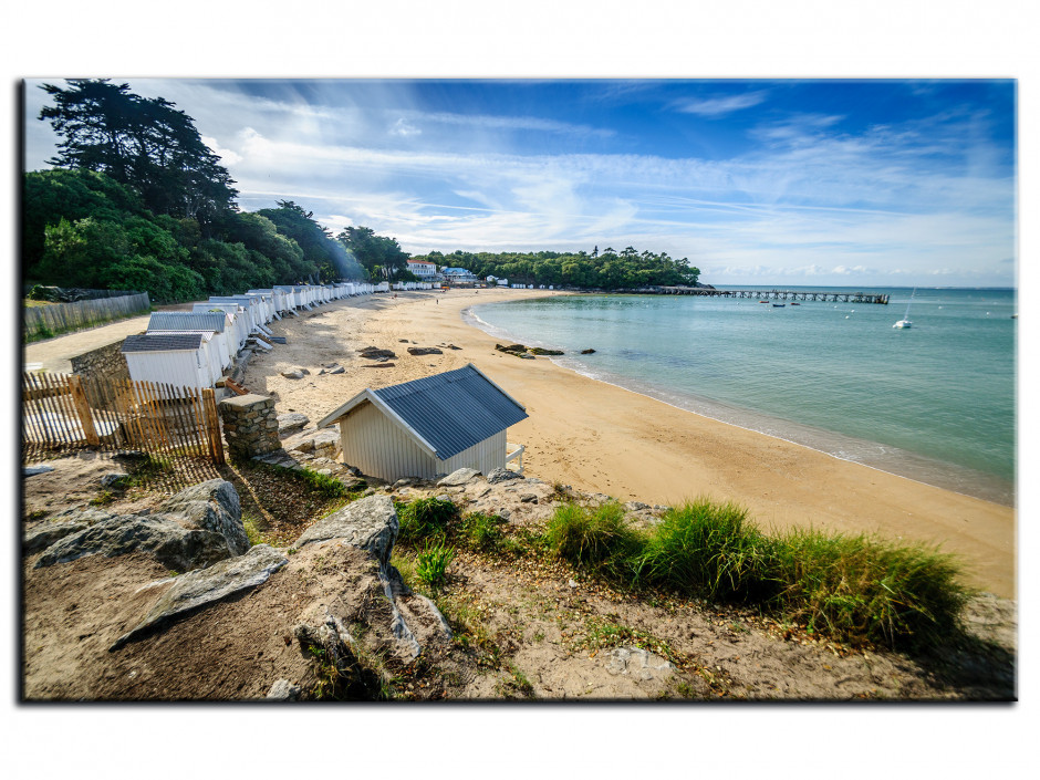 Tableau Aluminium photo PLAGE DES DAMES