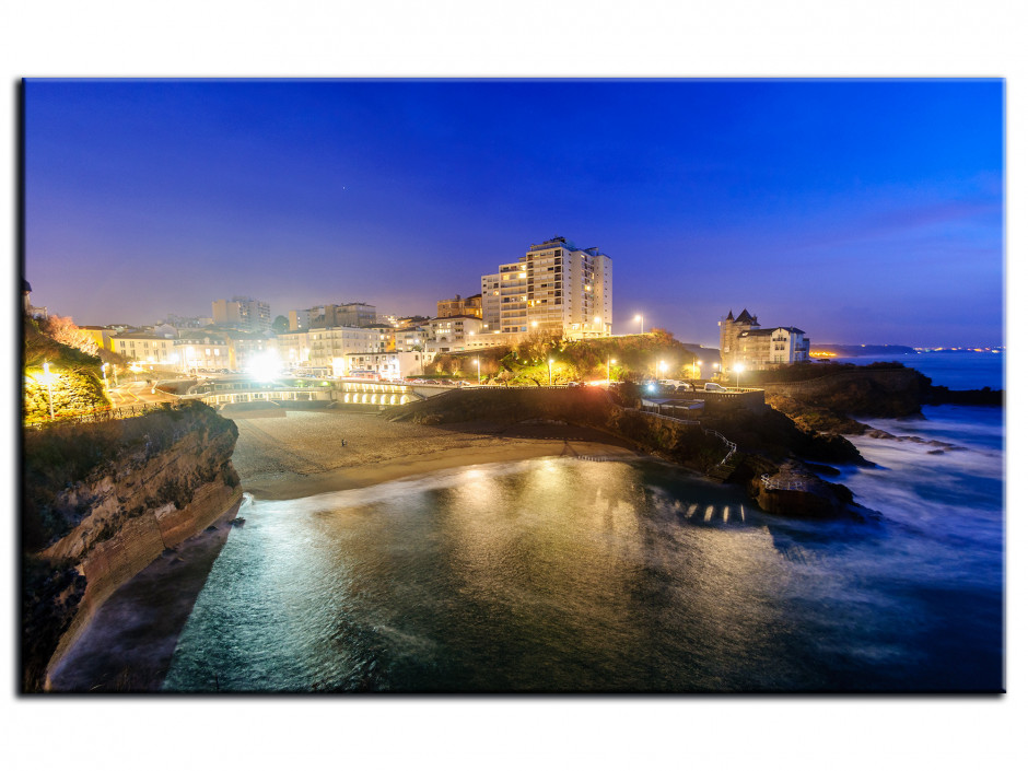 Tableau Aluminium photo BIARRITZ PLAGE