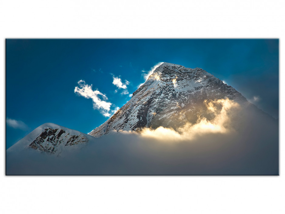 Tableau Aluminium photo montagne l'EVEREST