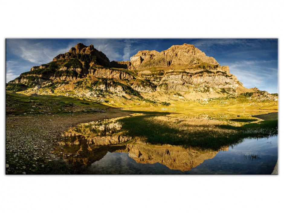 Tableau Aluminium panoramique PENA DE TELERA