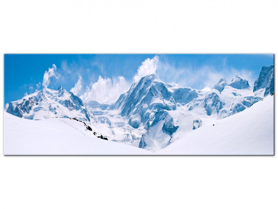 Tableau Aluminium photo de montagne PIC ENNEIGE