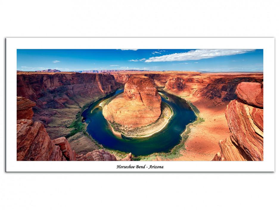 Tableau Aluminium deco photo paysage Arizona