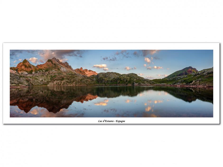 Tableau Aluminium panorama LAC D'ESTAENS