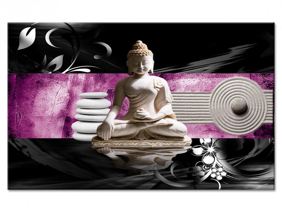 Tableau Aluminium élégance zen DÉCORATION BOUDDHA