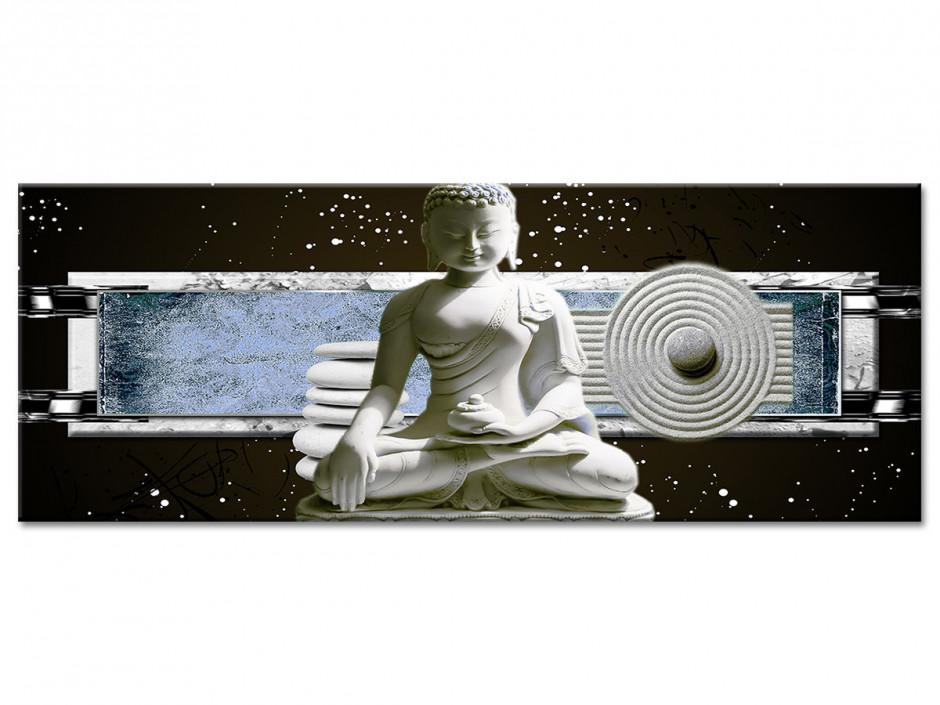 Tableau Aluminium zen décoration STATUE BOUDDHA