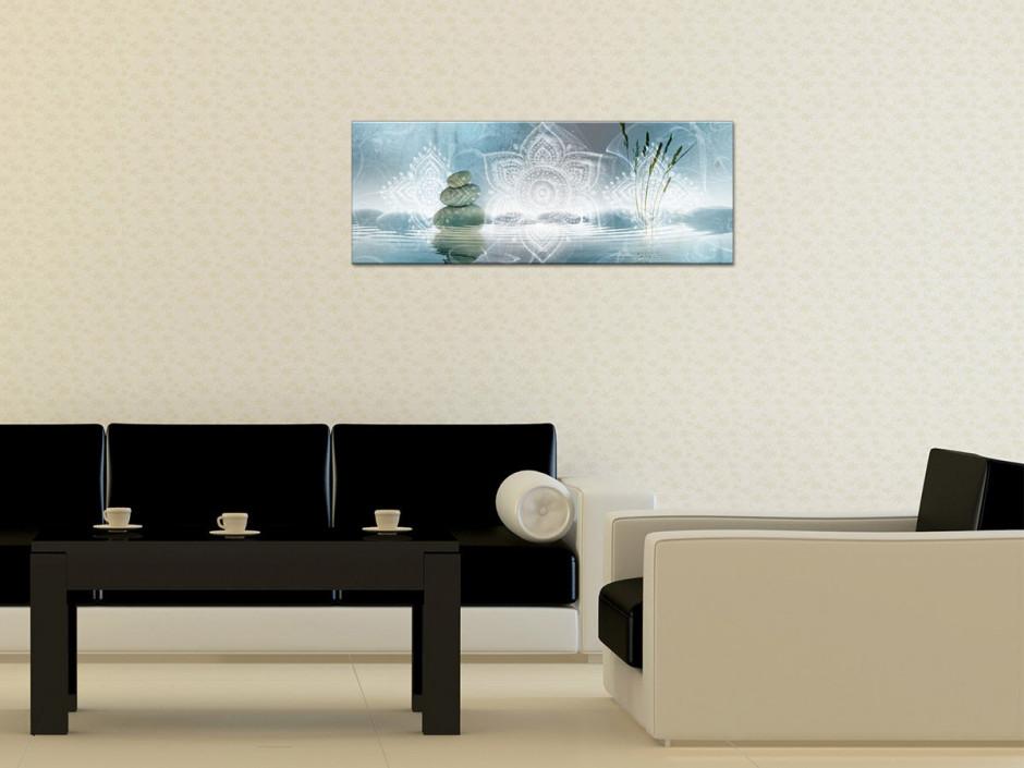 Tableau Aluminium panoramique zen DÉTENTE