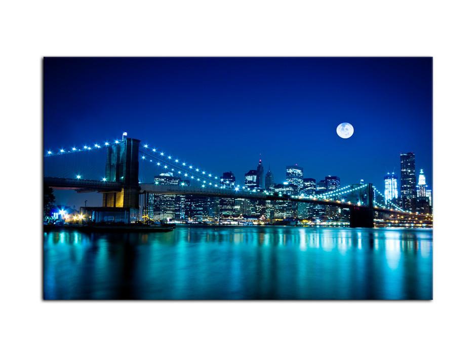 Tableau Aluminium déco Pont de Brooklyn
