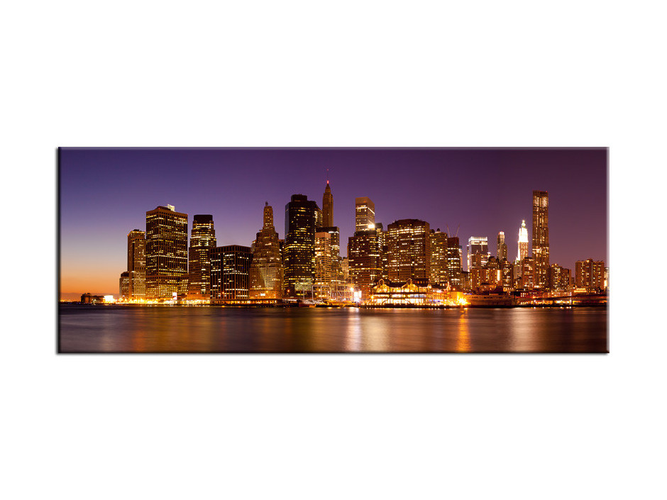Tableau Aluminium vue panoramique sur New York