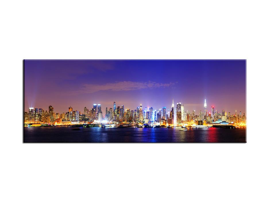 Tableau Aluminium deco panoramique Manhattan