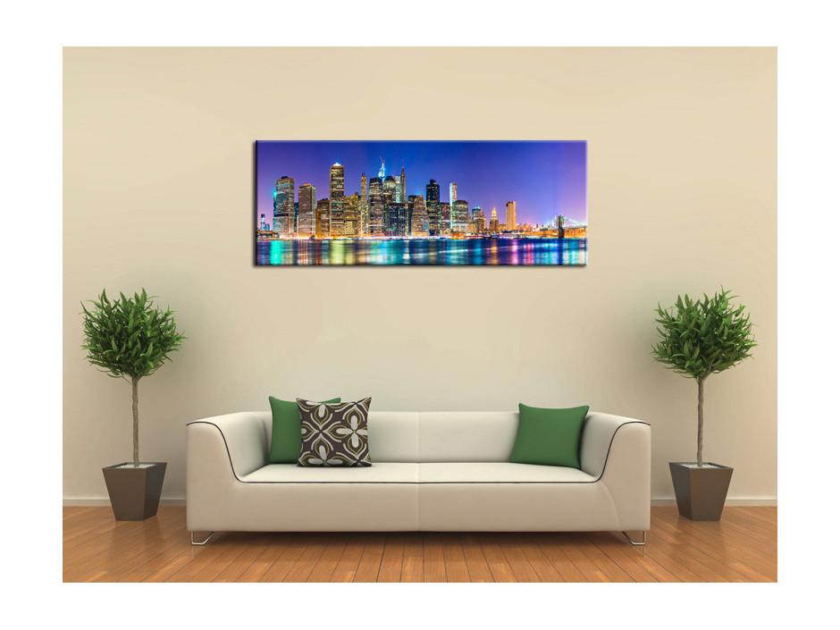 Tableau Aluminium décoratif New York City
