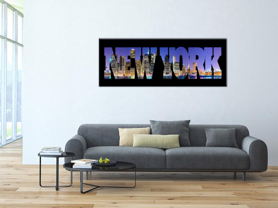Tableau Aluminium deco Gratte-Ciel New York