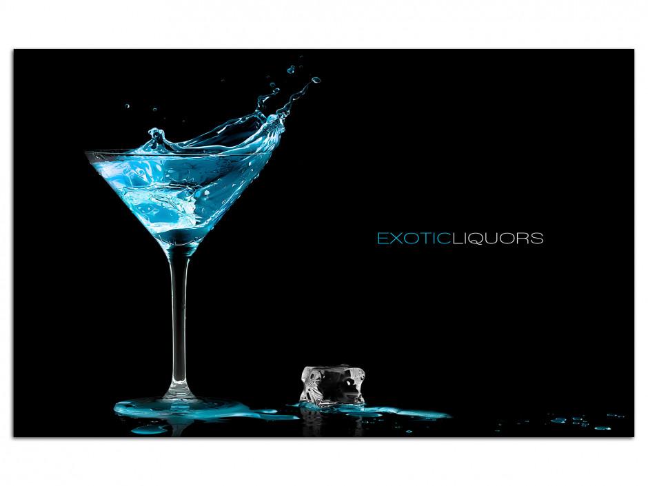 Cadre Aluminium décoratif Exotic Liquors