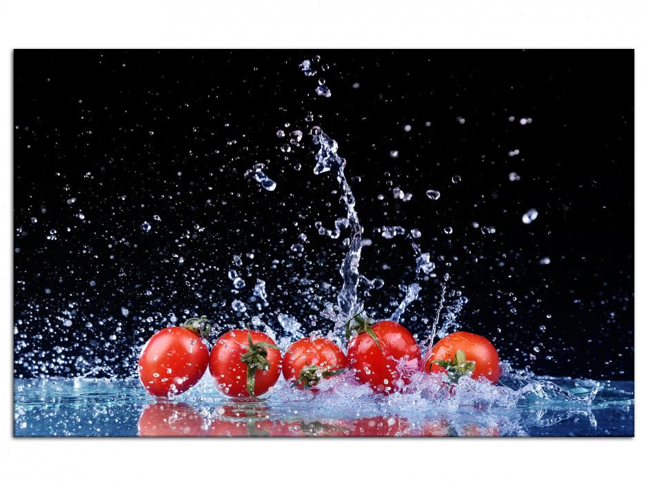 Cadre Aluminium déco cuisine Les Tomates