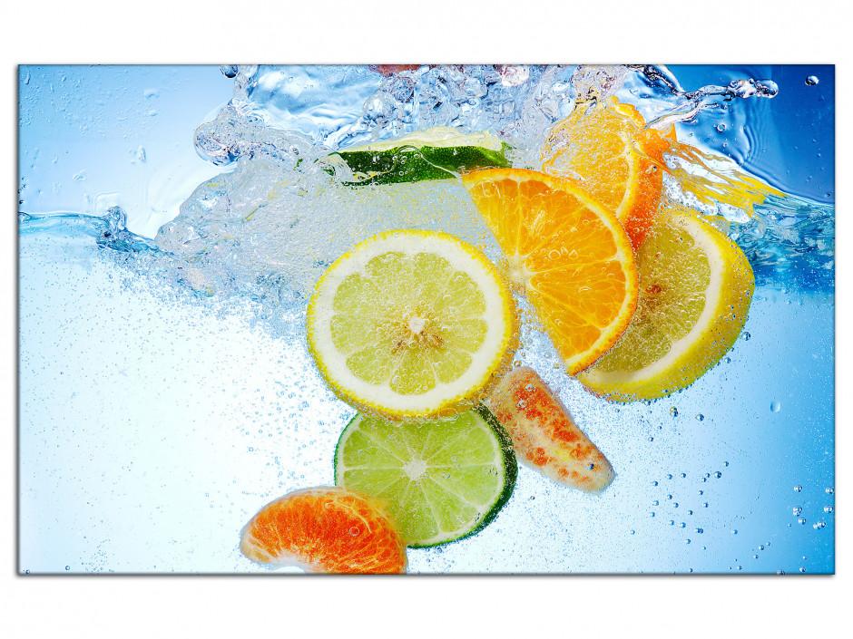 Cadre Aluminium déco Bain de Fruits