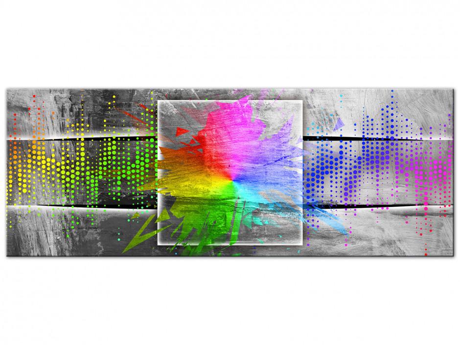 Tableau Aluminium moderne Spectre de lumière