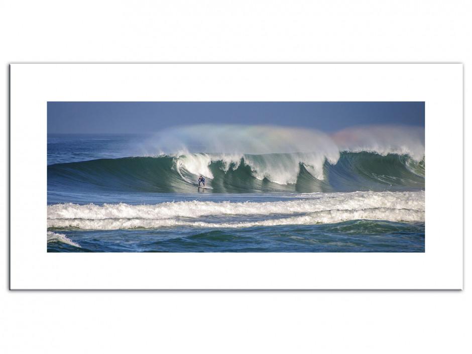 Tableau Aluminium surf La Gravière Hossegor