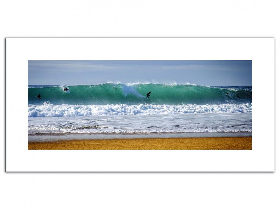 Tableau Aluminium déco Surf La Nord Hossegor