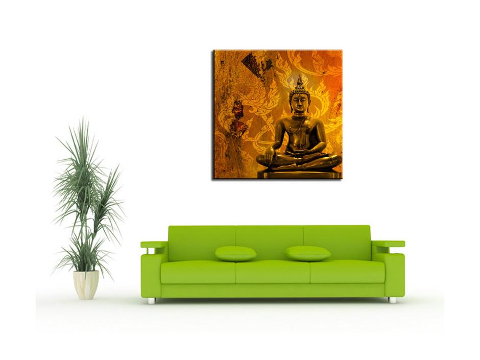 Tableau Aluminium deco design zen Bouddha